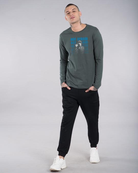 Shop Not Afraid Rap Full Sleeve T-Shirt-Design