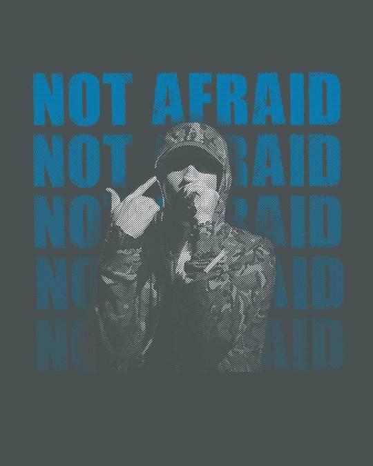 Shop Not Afraid Rap Half Sleeve T-Shirt-Full