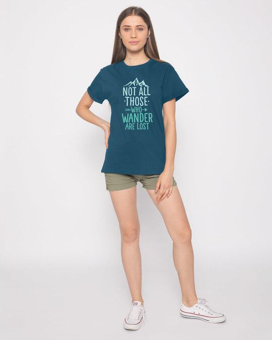 Shop Not All Who Boyfriend T-Shirt
