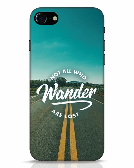 Shop Not All Who Wander iPhone 8 Mobile Cover-Front