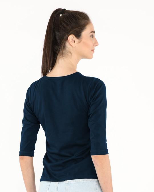 Shop Not Average Round Neck 3/4th Sleeve T-Shirt-Full