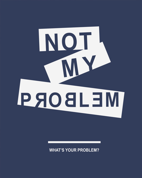 Shop Not My Problem Boyfriend T-Shirt