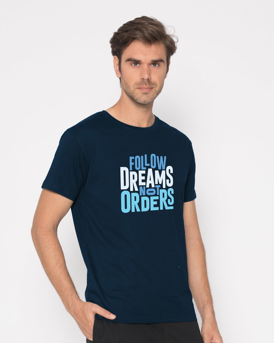 Shop Not Orders Half Sleeve T-Shirt-Full