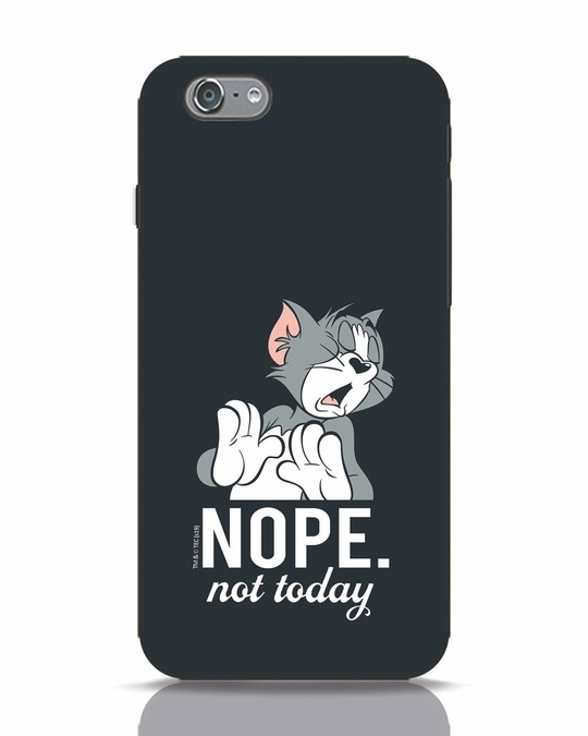 Shop Not Today Tom iPhone 6s Mobile Cover (TJL)-Front
