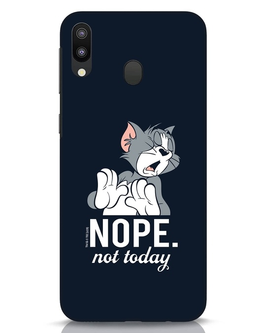 Shop Not Today Tom Samsung Galaxy M20 Mobile Cover (TJL)-Front