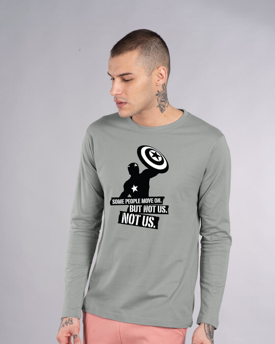 Shop Not Us Full Sleeve T-Shirt (AVEGL)-Front
