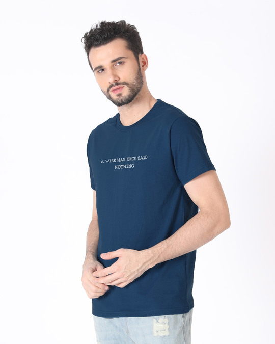 Shop Nothing Half Sleeve T-Shirt-Full