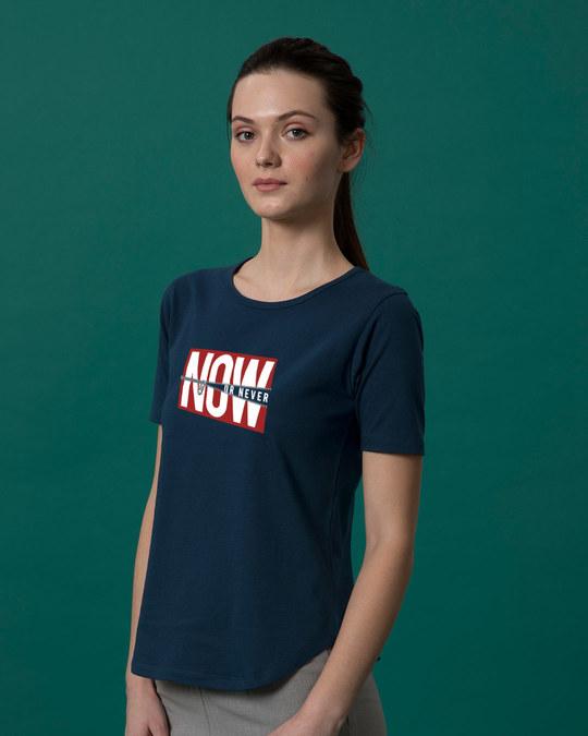 Shop Now Or Basic Round Hem T-Shirt-Full