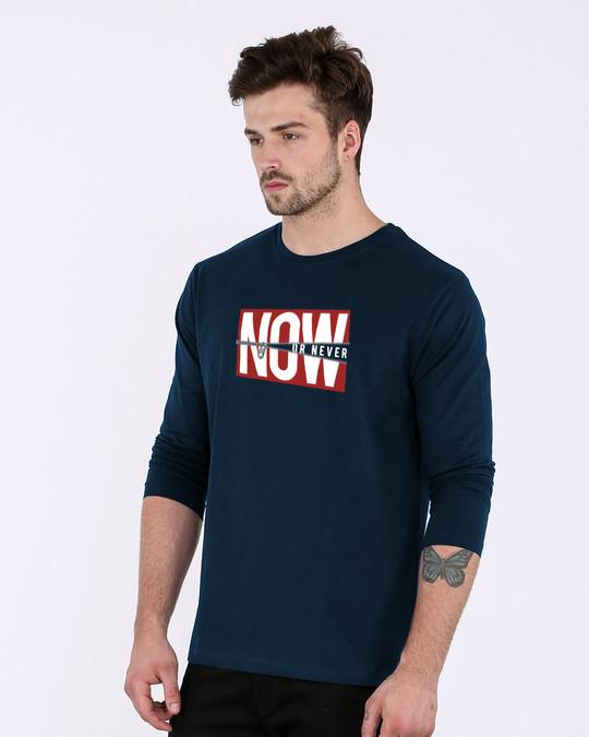 Shop Now Or Full Sleeve T-Shirt-Full