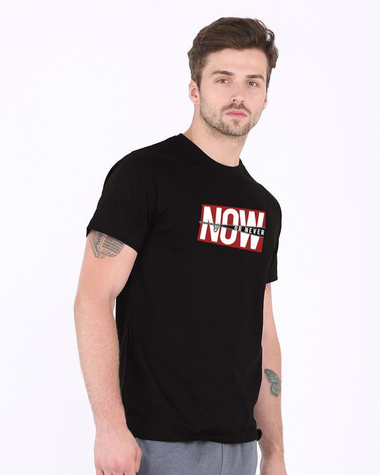 Shop Now Or Half Sleeve T-Shirt-Full