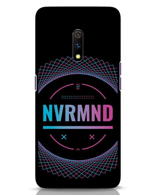 Shop Nvr Mnd Realme X Mobile Cover-Front