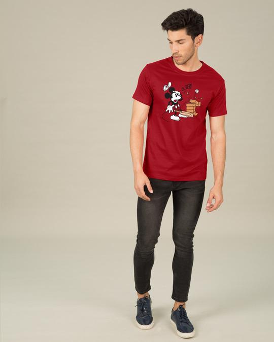 Shop O Teri Mickey Half Sleeve T-Shirt (DL)-Design