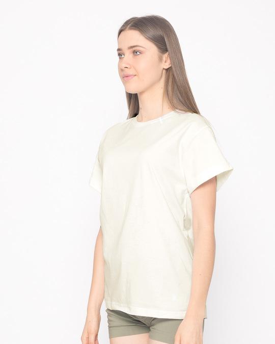 Shop Off White Boyfriend T-Shirt-Back