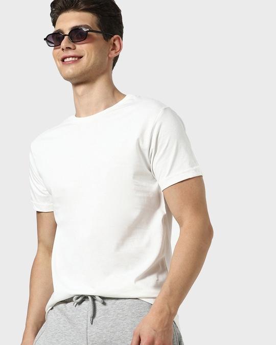 Shop Off-White Half Sleeve T-Shirt