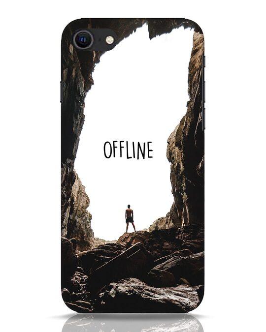 Shop Offline iPhone SE 2020 Mobile Cover-Front