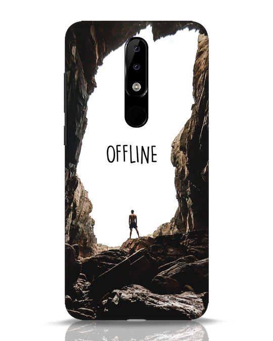 Shop Offline Nokia 5.1 Plus Mobile Cover-Front