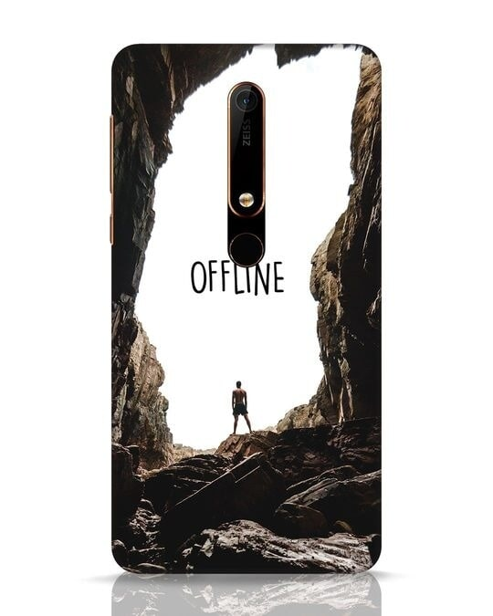 Shop Offline Nokia 6.1 Mobile Cover-Front