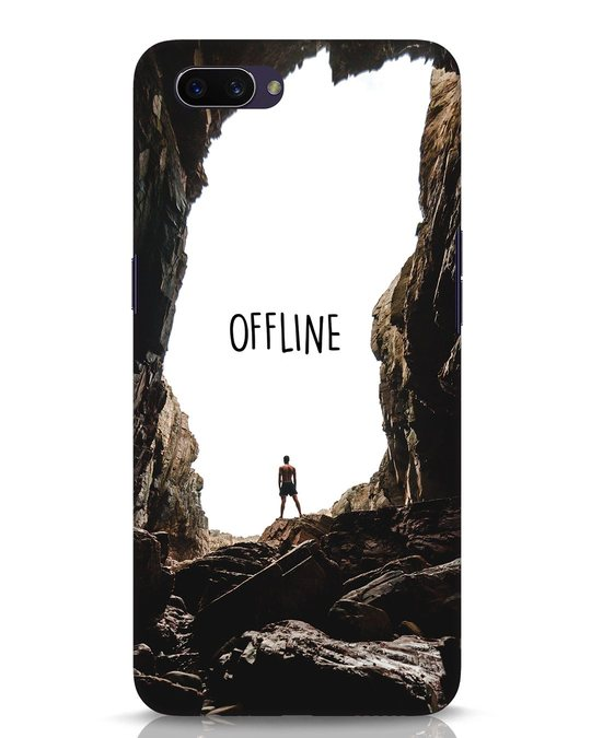 Shop Offline Oppo A3S Mobile Cover-Front