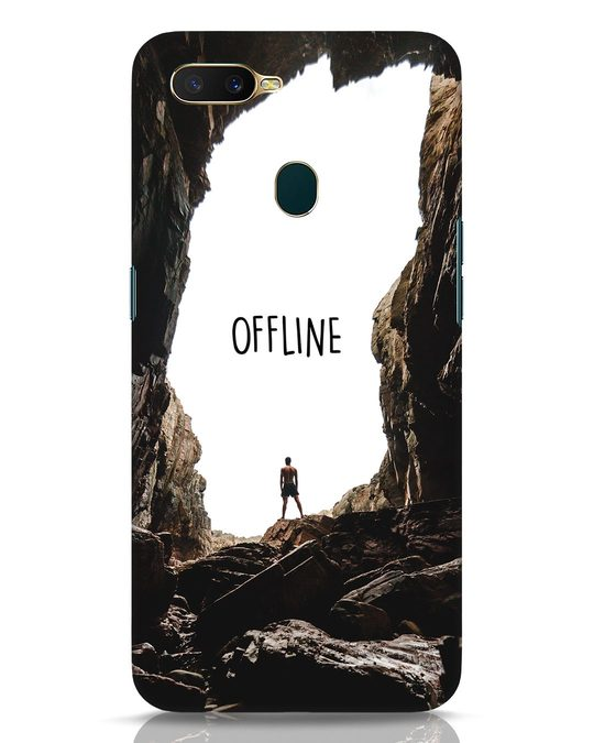 Shop Offline Oppo A7 Mobile Cover-Front
