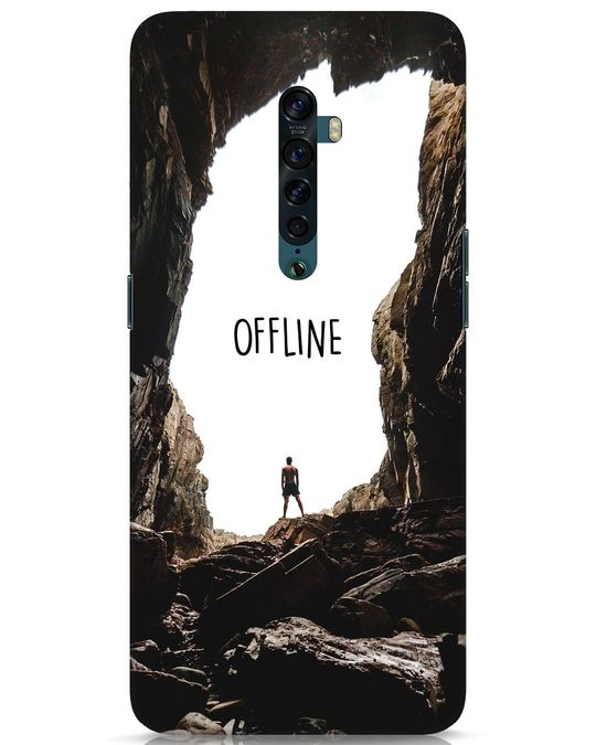 Shop Offline Oppo Reno 2 Mobile Cover-Front