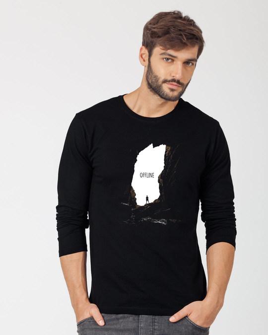 Shop Offline Photorealistic Full Sleeve T-Shirt-Front