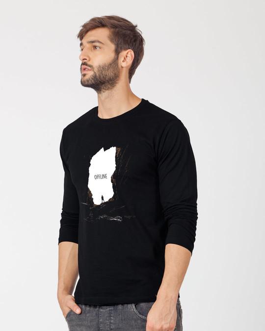 Shop Offline Photorealistic Full Sleeve T-Shirt-Back