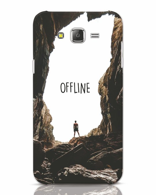 Shop Offline Samsung Galaxy J7 Mobile Cover-Front