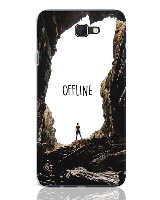 Shop Offline Samsung Galaxy J7 Prime Mobile Cover-Front