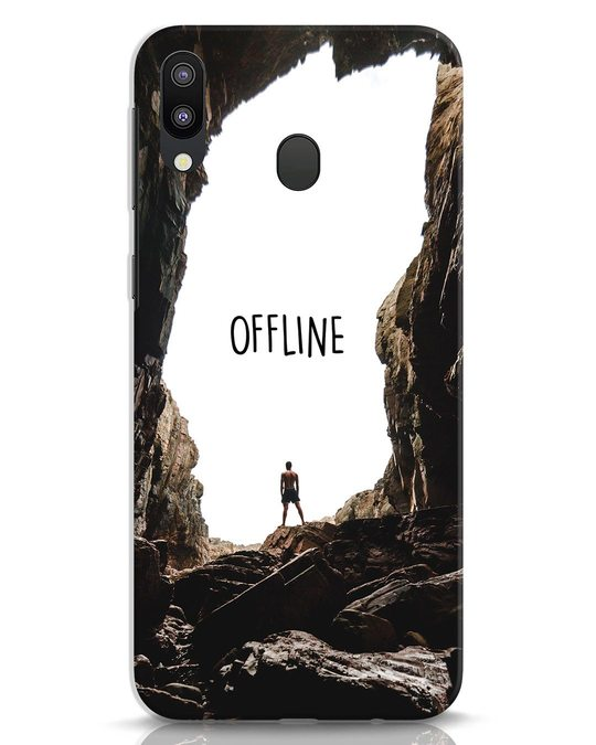 Shop Offline Samsung Galaxy M20 Mobile Cover-Front