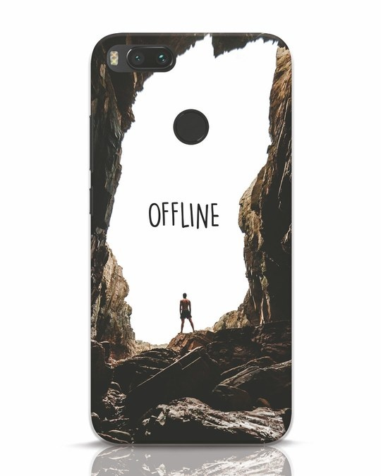 Shop Offline Xiaomi Mi A1 Mobile Cover-Front