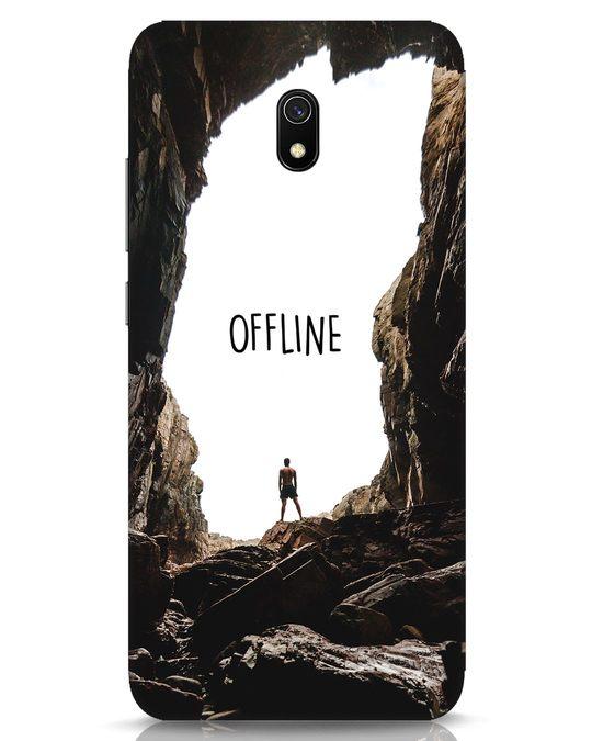 Shop Offline Xiaomi Redmi 8A Mobile Cover-Front