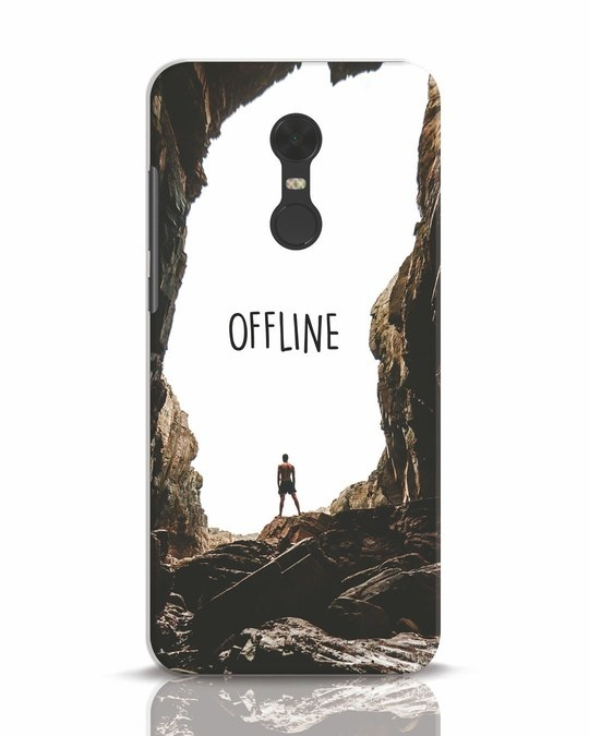 Shop Offline Xiaomi Redmi Note 5 Mobile Cover-Front