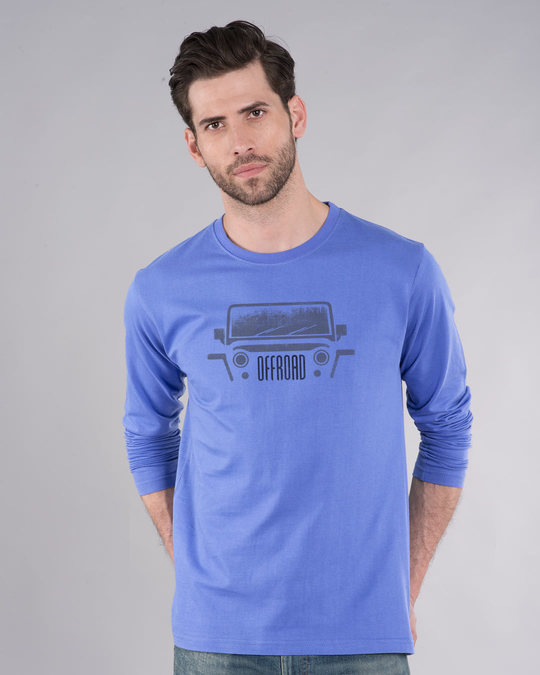 Shop Offroad Full Sleeve T-Shirt-Front