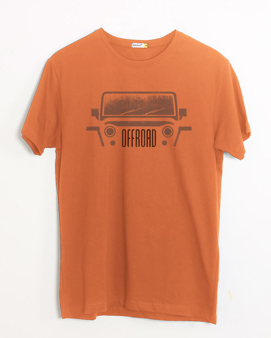 Shop Offroad Half Sleeve T-Shirt-Front