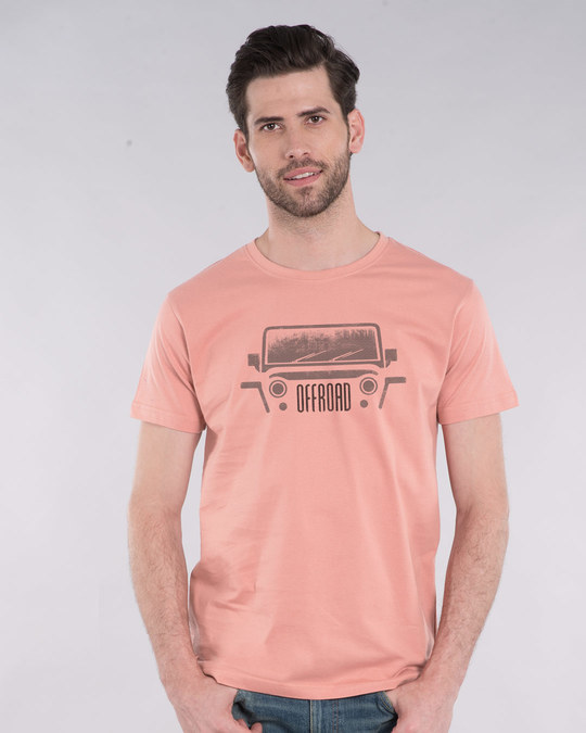 Shop Offroad Half Sleeve T-Shirt-Back