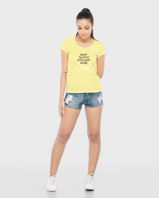 Shop Oh And Cute Half Sleeve T-Shirt-Design