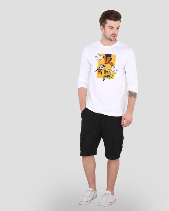 Shop Oh So Goofy Full Sleeve T-Shirt (DL) White-Design