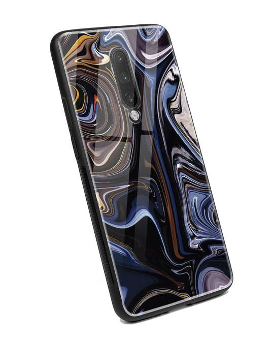 Shop Oil Paint Marable OnePlus 7 Pro Glass Mobile Cover-Back