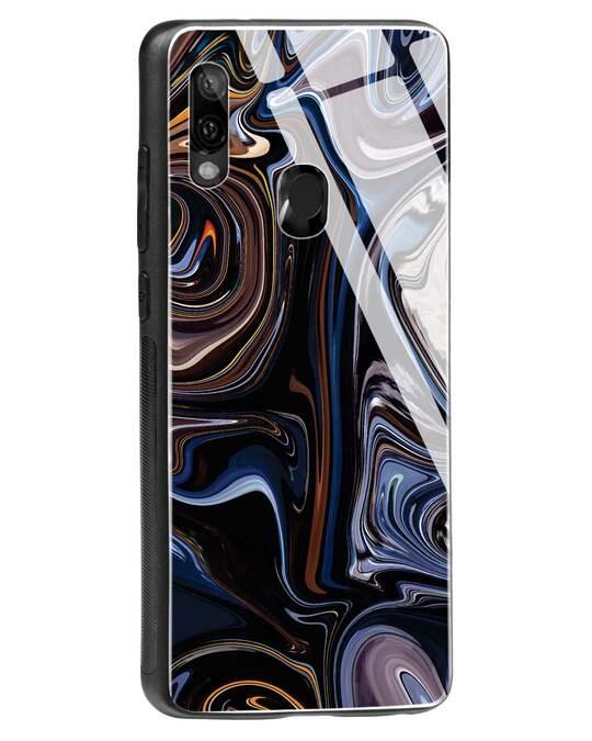 Shop Oil Paint Marable Xiaomi Redmi Note 7 Glass Mobile Cover-Back