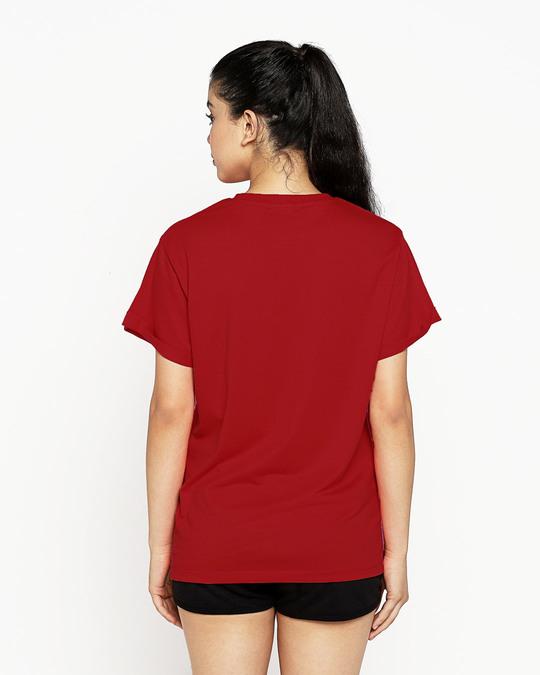 Shop Ok Whatever Boyfriend T-Shirt (DL) Bold Red-Design