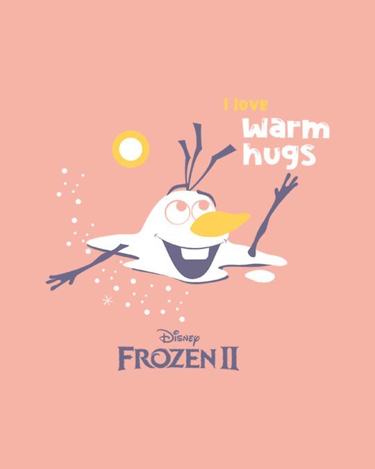 Shop Olaf-i Love Warm Hugs Fleece Light Sweatshirt (FROZEN)-Full