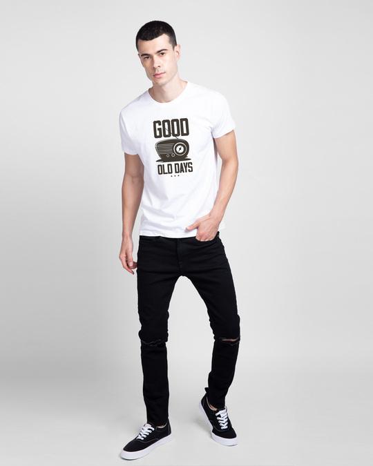 Shop Old Days Half Sleeve T-Shirt-Design