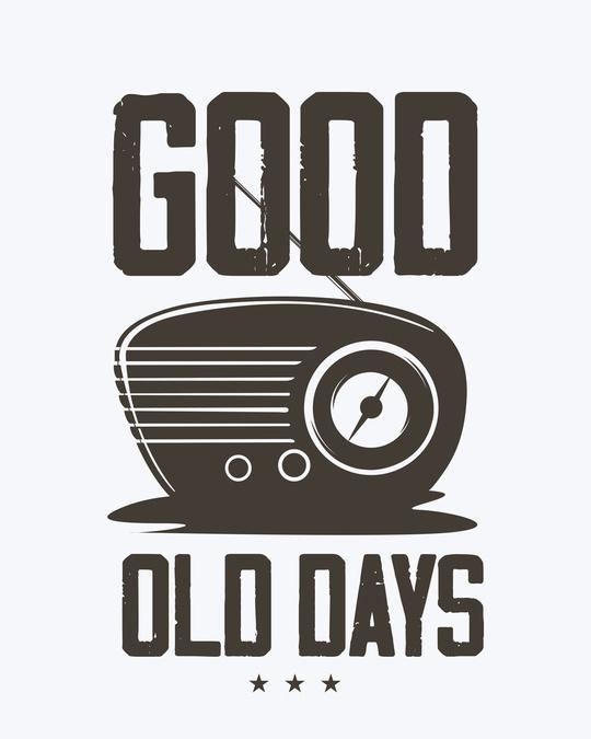 Shop Old Days Half Sleeve T-Shirt-Full