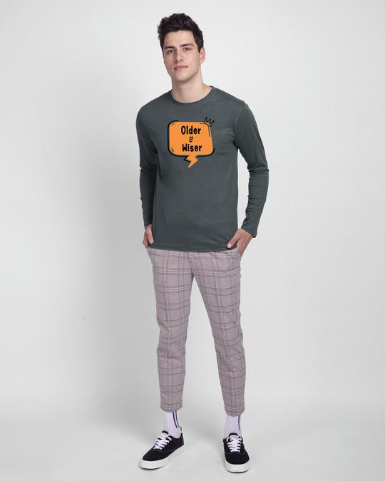 Shop Older & Wiser Full Sleeve T-Shirts-Design