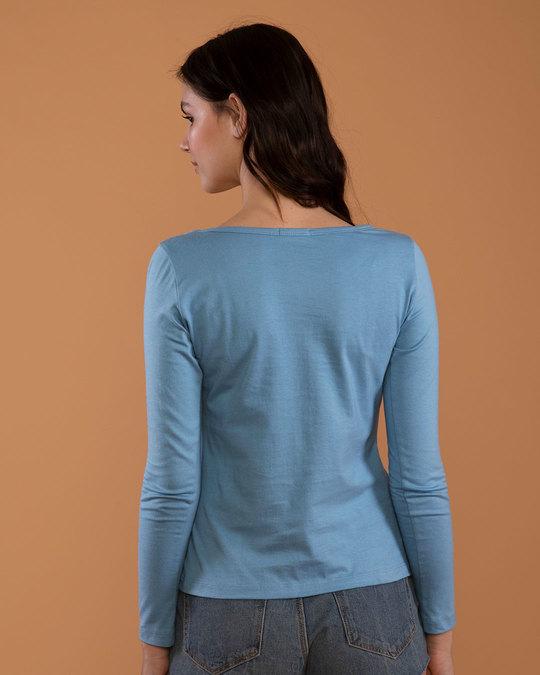 Shop Omg Minnie Scoop Neck Full Sleeve T-Shirt (DL)-Design