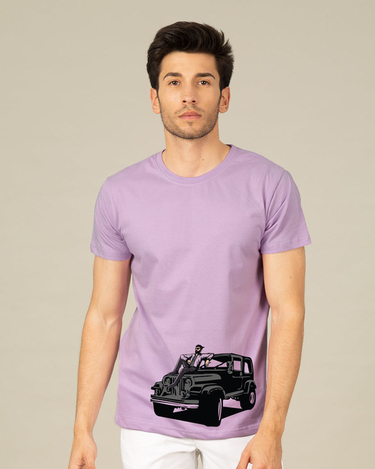 Shop On The Road Again Half Sleeve T-Shirt-Back