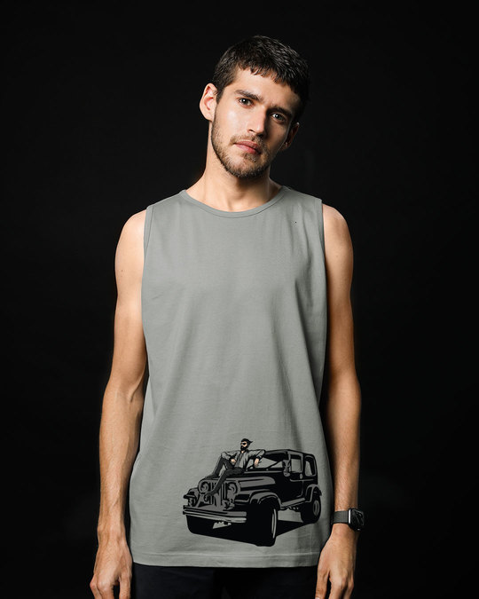 Shop On The Road Again Vest-Front