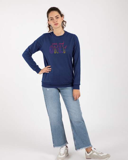 Shop One And Only Fleece Sweater-Design