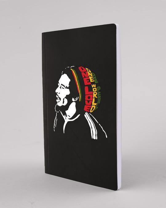 Shop One Love Bob Marley Notebooks-Design