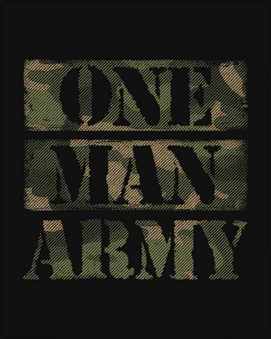 Shop One Man Army Sweatshirt